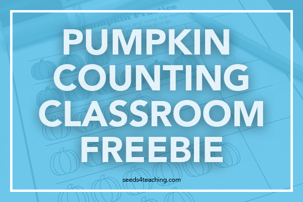 Free Counting Worksheet for Your Classroom