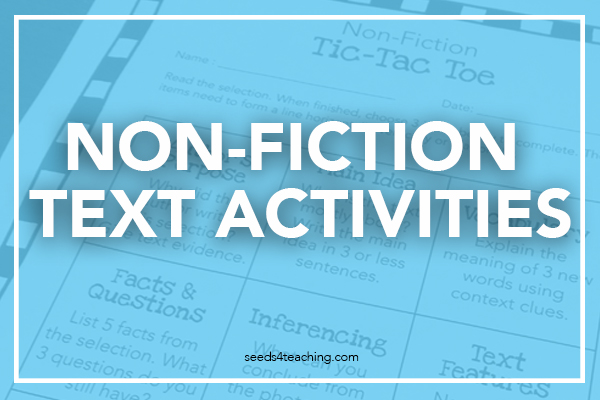3 Easy (and Fun) Ways to Increase Non-Fiction Comprehension